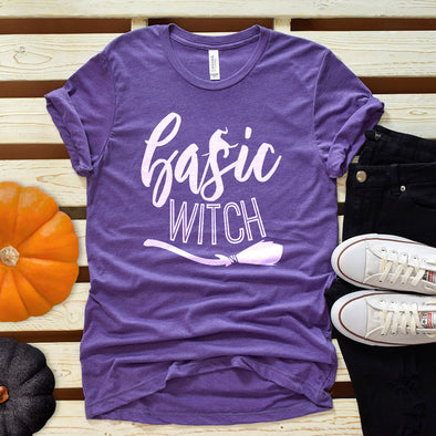 Basic Witch Tee - Inspired Hearts Boutique