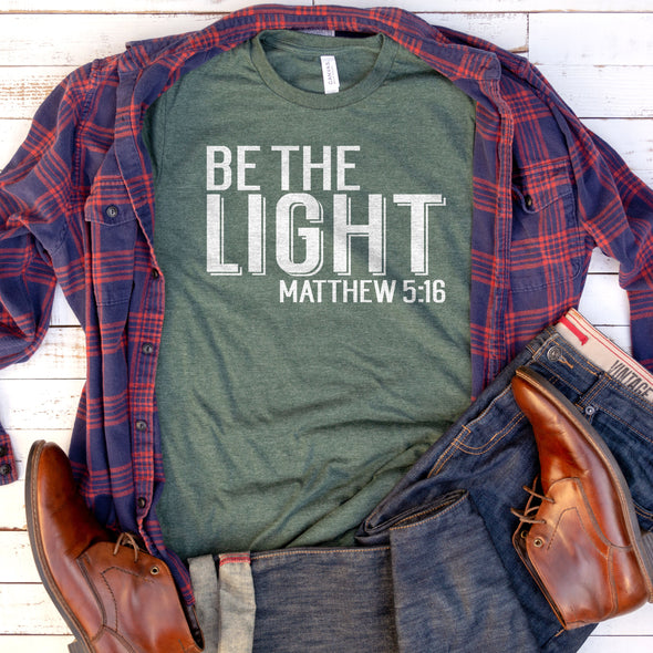 Be The Light Tee - Inspired Hearts Boutique