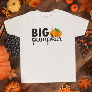 Big Pumpkin Toddler Tee - Inspired Hearts Boutique