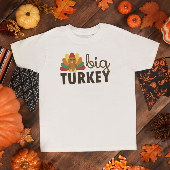 Big Turkey Kids Graphic Tee - Inspired Hearts Boutique