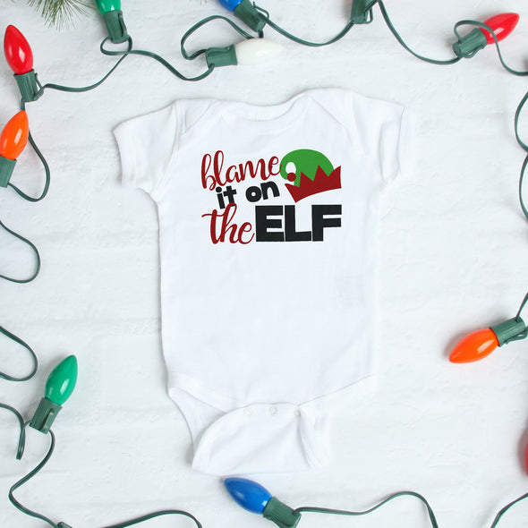 Blame it on the Elf Bodysuit - Inspired Hearts Boutique