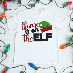 Blame it on the Elf Infant Tee - Inspired Hearts Boutique