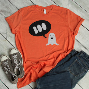 Boo Ghost Tee - Inspired Hearts Boutique