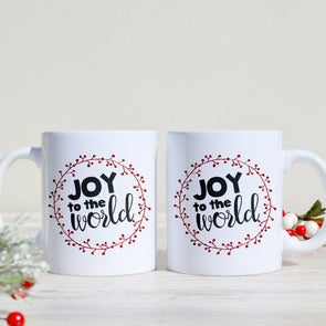 Joy to the World Mug - Inspired Hearts Boutique