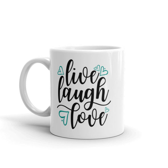Live Laugh Love Mug - Inspired Hearts Boutique