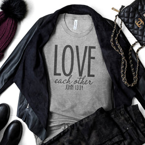 Love Each Other Women's Shirt - Inspired Hearts Boutique