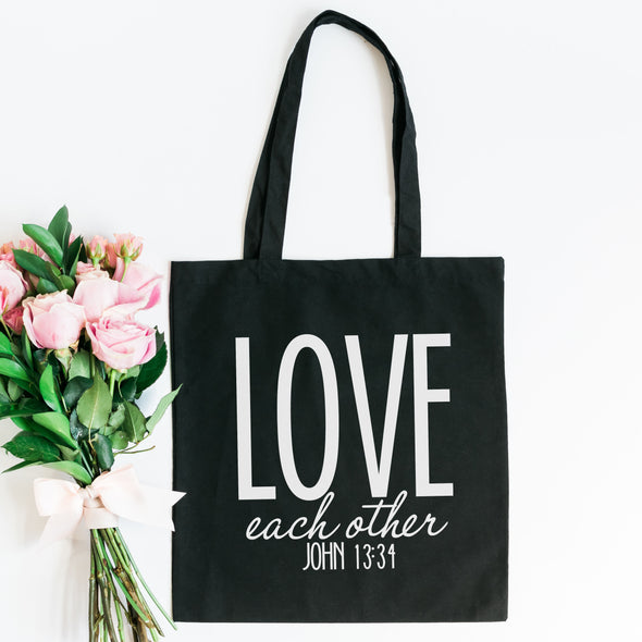 Love Each Other Tote Bag - Inspired Hearts Boutique