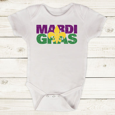Infant Boy Mardi Gras Bodysuit