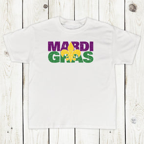 Toddler Boys Mardi Gras Shirt