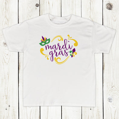 Toddler Girl Mardi Gras Shirt