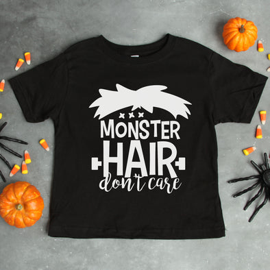 Monster Hair Don't Care Infant Tee - Inspired Hearts Boutique