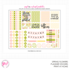 Spring Flowers Monthly Planner Kit