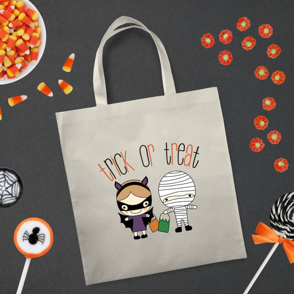 Trick Or Treat Halloween Bag - Inspired Hearts Boutique