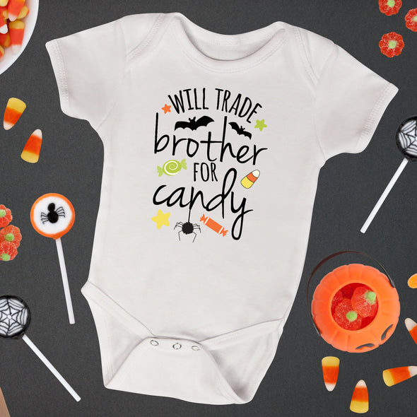 Will Trade Brother For Candy Infant Bodysuit - Inspired Hearts Boutique