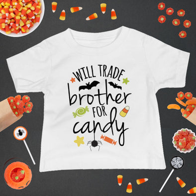 Will Trade Brother For Candy Infant Tee - Inspired Hearts Boutique