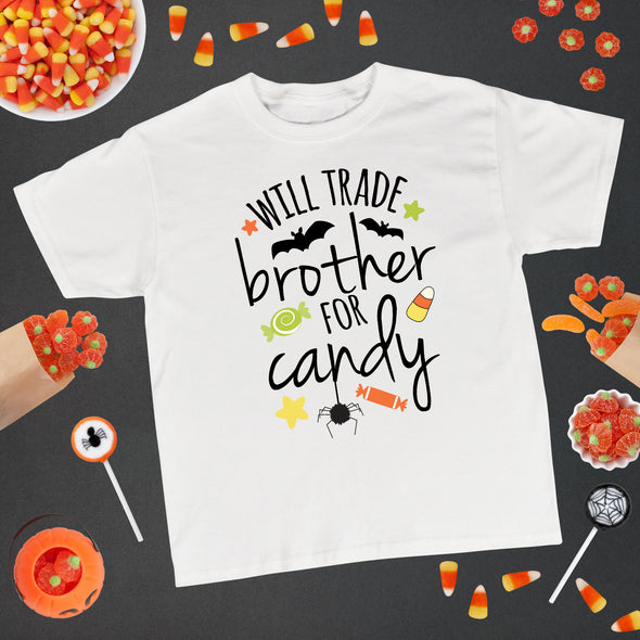 Will Trade Brother For Candy Kids Tee - Inspired Hearts Boutique