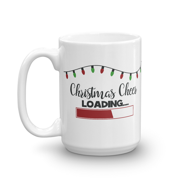Christmas Cheer Loading Mug - Inspired Hearts Boutique
