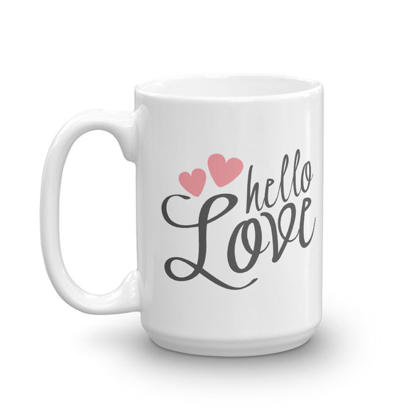 Hello Love Mug - Inspired Hearts Boutique