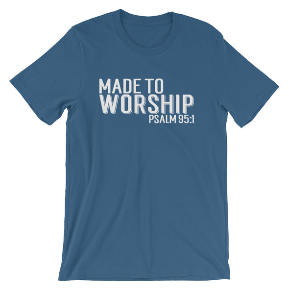 Made To Worship Tee - Inspired Hearts Boutique