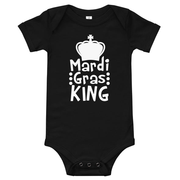 Mardi Gras King Infant Bodysuit