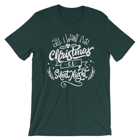 All I Want for Christmas is a Silent Night Tee - Inspired Hearts Boutique