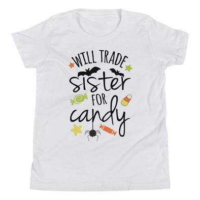 Will Trade Sister For Candy Kids Tee - Inspired Hearts Boutique