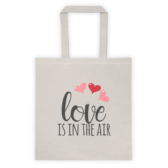 Love Is In The Air Tote Bag - Inspired Hearts Boutique
