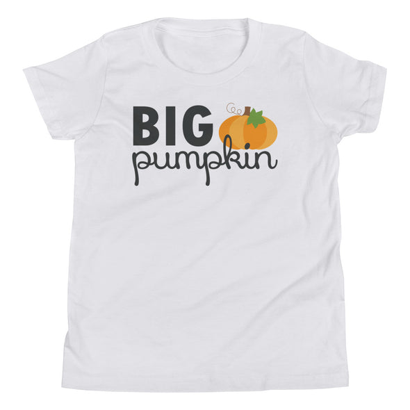 Big Pumpkin Kids Tee - Inspired Hearts Boutique