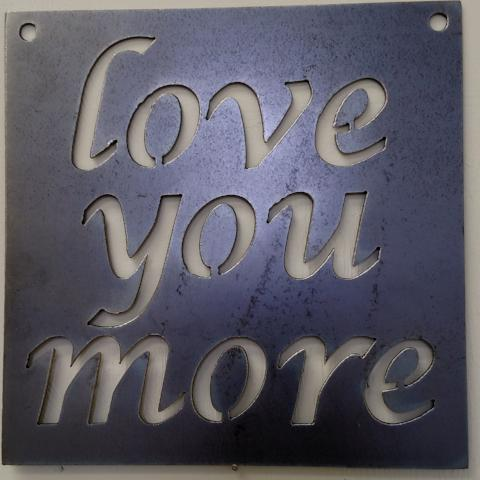 Love You More Square