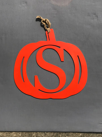 Pumpkin Monogram