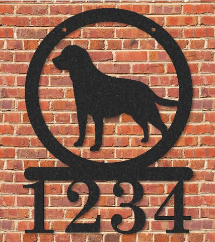 Dog Address Sign