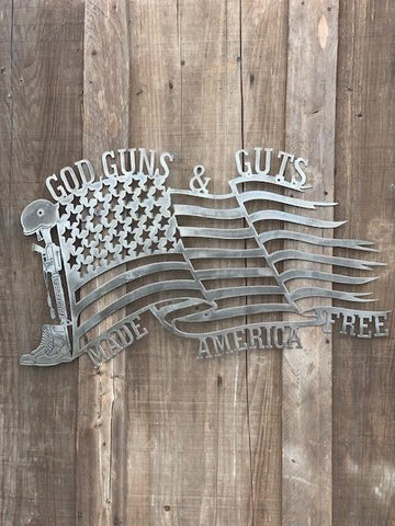 God, Guns and Guts