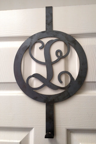 Monogram - Wreath Hanger