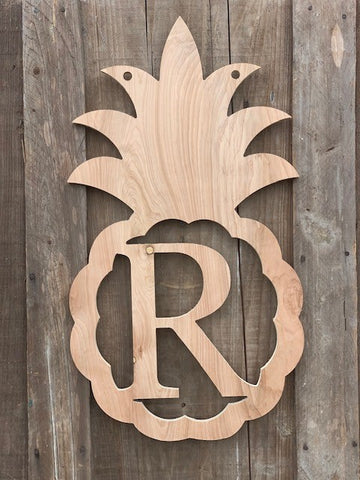 "Pineapple 27"" Monogram"