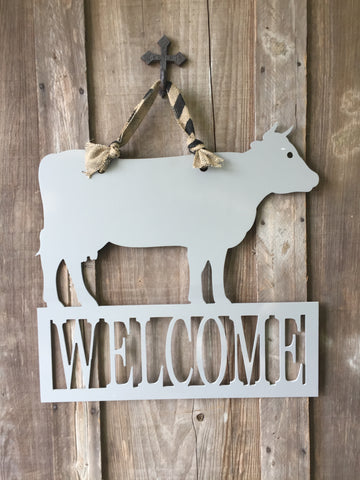 Welcome - Cow