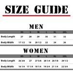 461 Veteran Clothing Co. T-Shirt Size Guide