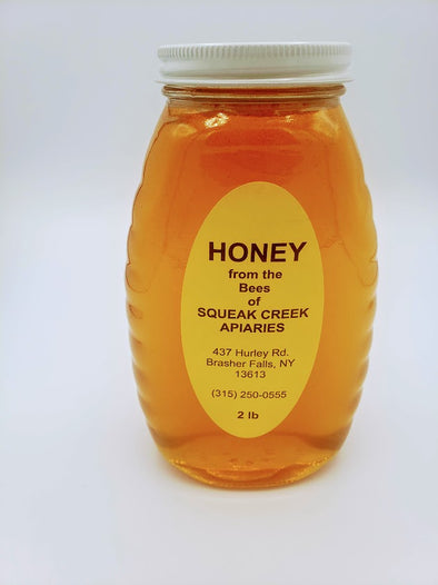 Honey 2lb glass jar