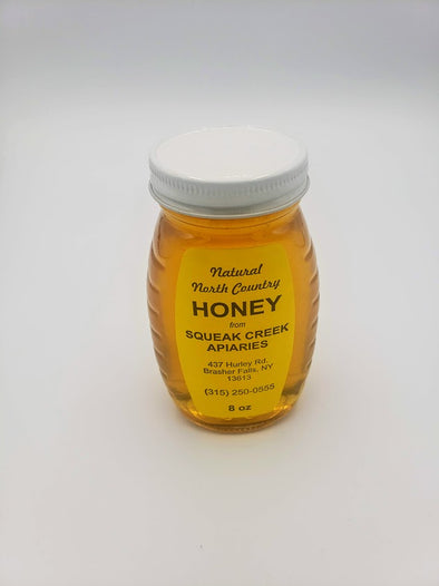 Honey 8oz glass jar