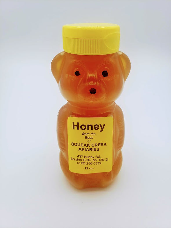 Honey Plastic Bear 12oz