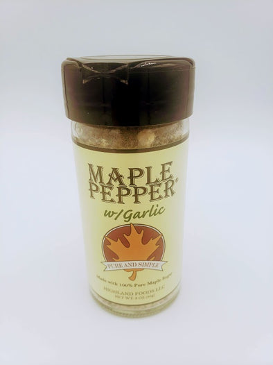 Maple Pepper with Garlic 3oz