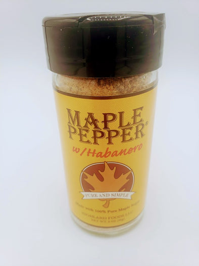 Maple Pepper with Habanero 3oz