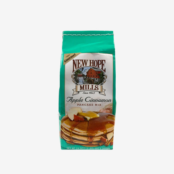 New Hope Mills - Apple Cinnamon Pancake Mix 1.5lb