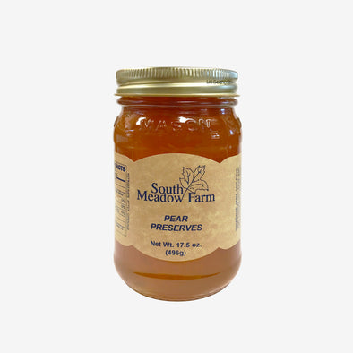 Cinnamon Pear Preserves 17.5