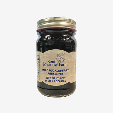 Wild Huckleberry Preserves 17.5oz