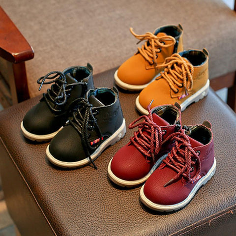 Chaussures | Tim Like Montante | Noir / Rouge / Marron