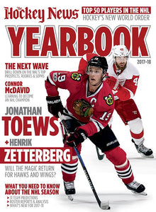 2017/18 YEARBOOK | Detroit & Chicago Cover