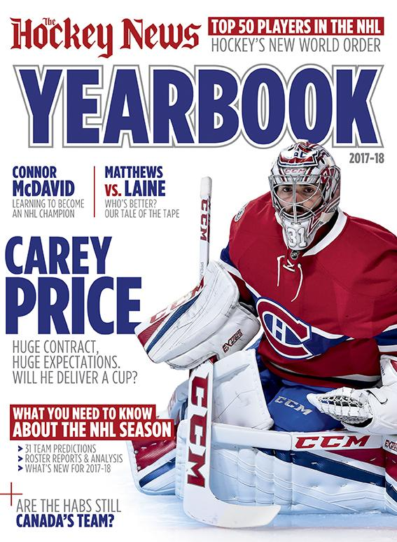 2017/18 YEARBOOK | Montreal Cover