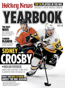 2017 - 2018 NHL YEARBOOK | Pittsburgh & Philadelphia Cover