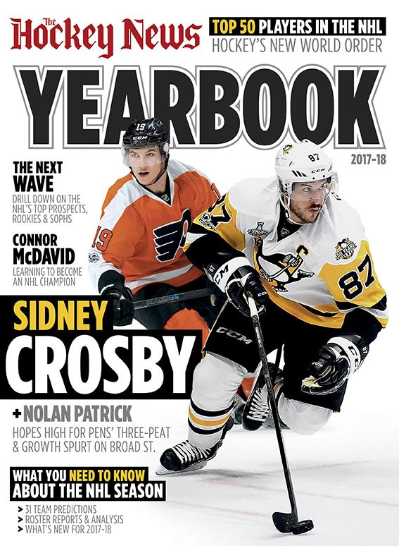 2017/18 YEARBOOK | Pittsburgh & Philadelphia Cover