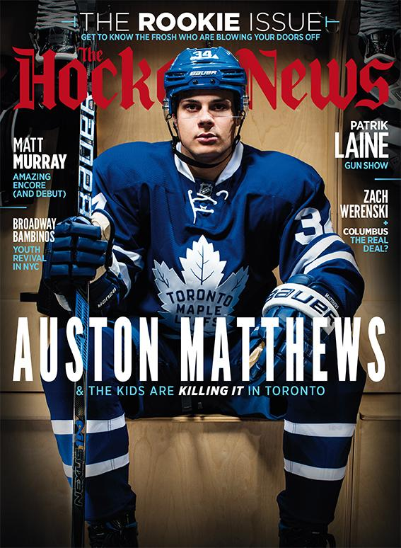 2017 THE ROOKIE ISSUE | AUSTON MATTHEWS | 7011